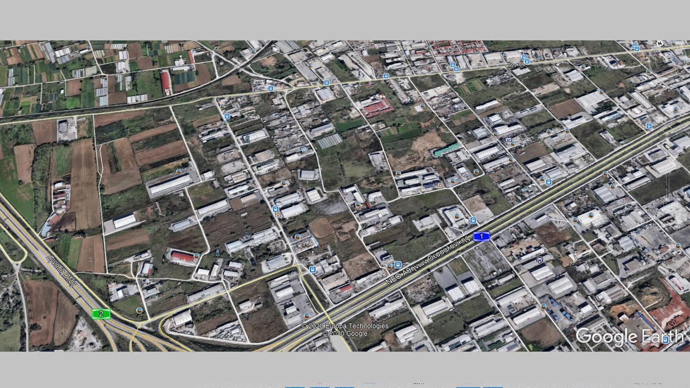 Πλησίον Εγνατίας οδού-Nέα Δυτική είσοδος Θεσσαλονίκης