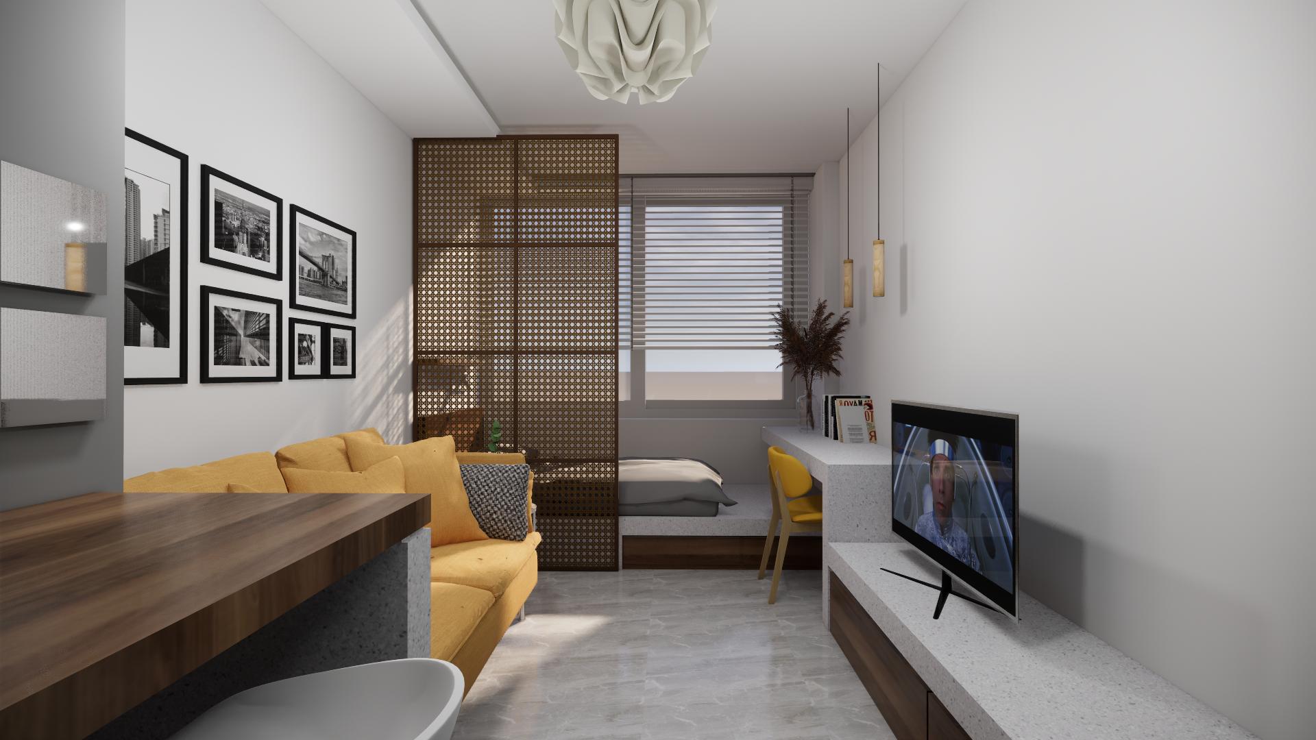 Studio/loft για επένδυση!